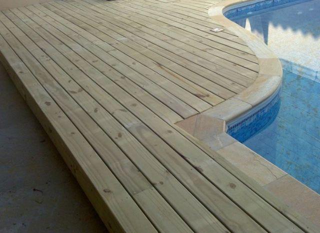 Deck de Pinus Auto Clave 3m x 8,5cm x 2,2cm